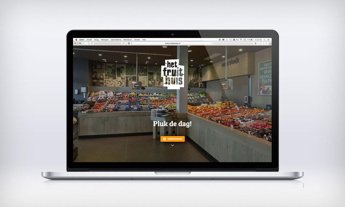 het fruithuis website