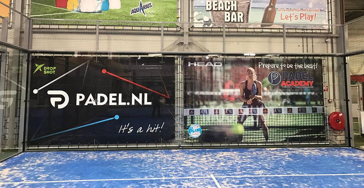 reclamedoek PadelNL