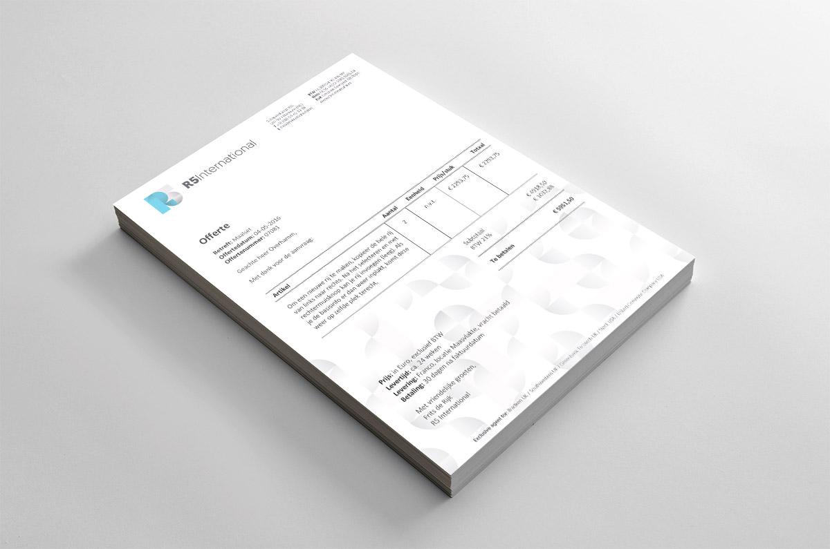 Briefpapier R5 international