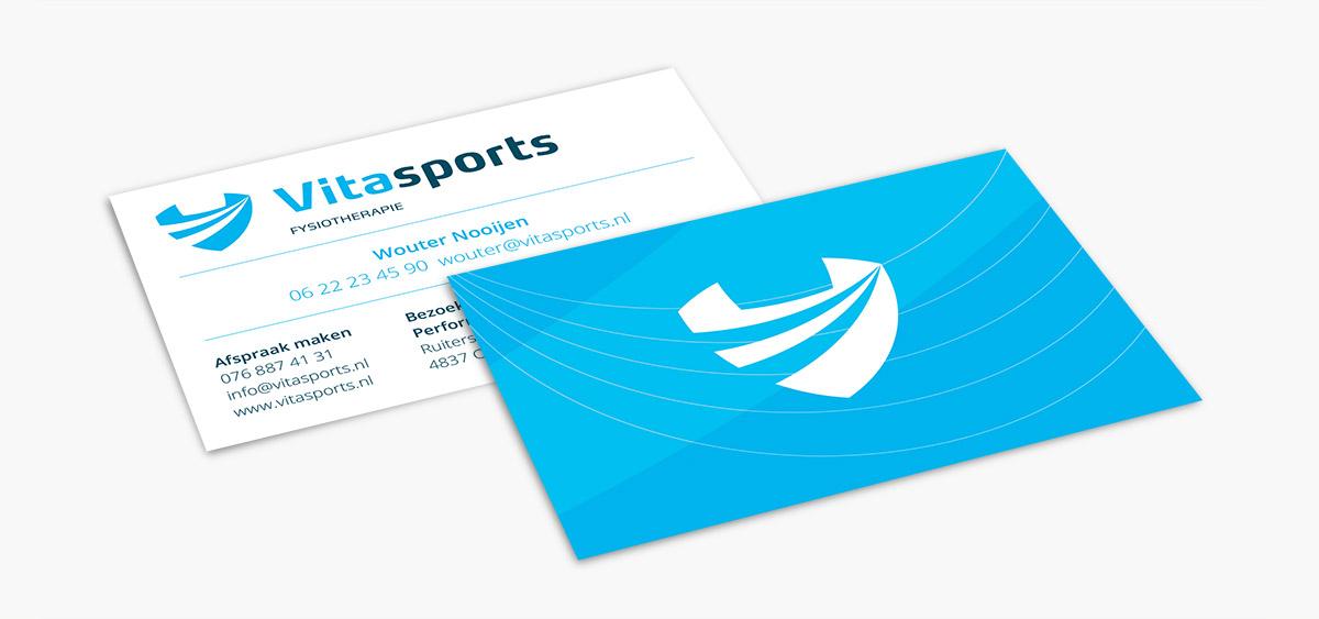 visitekaartjes vitasports