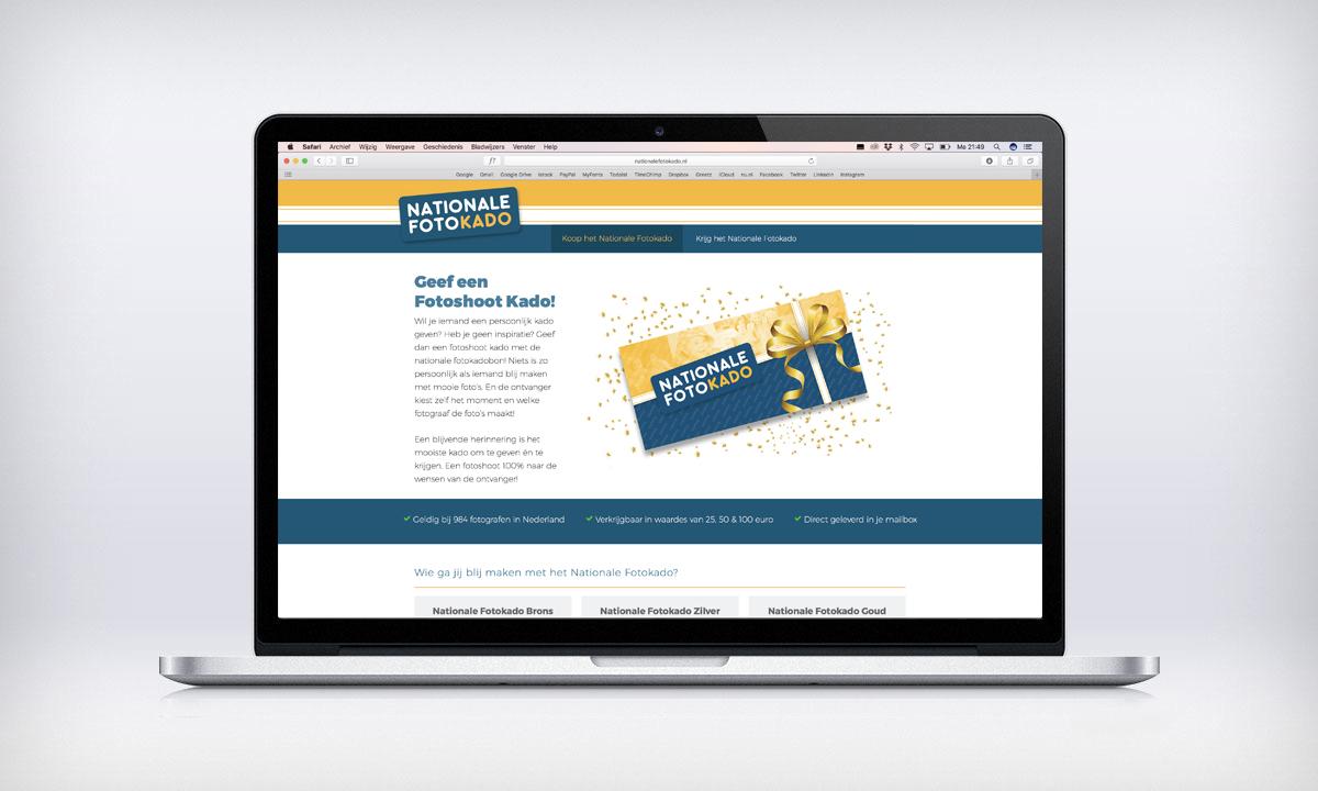 Nationale Fotokado website