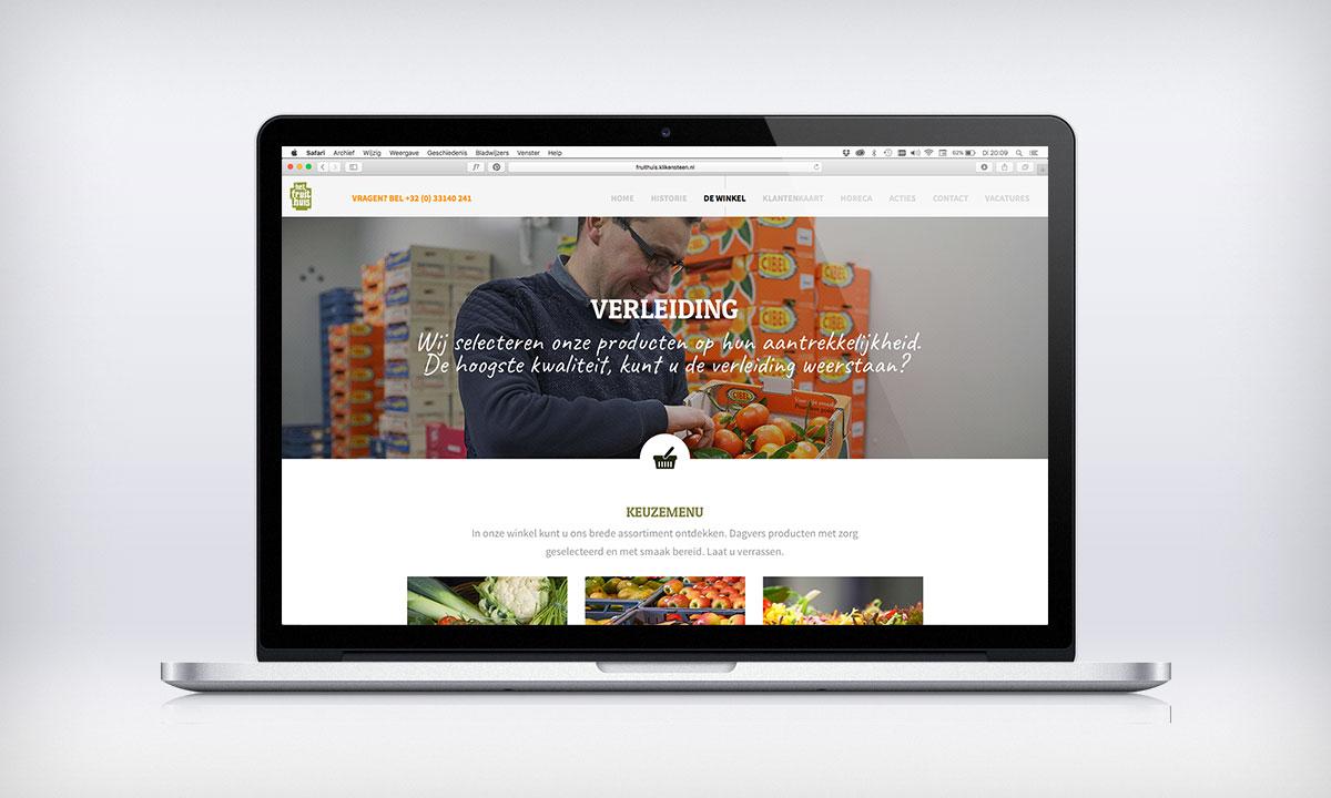 Parallax website Fruithuis