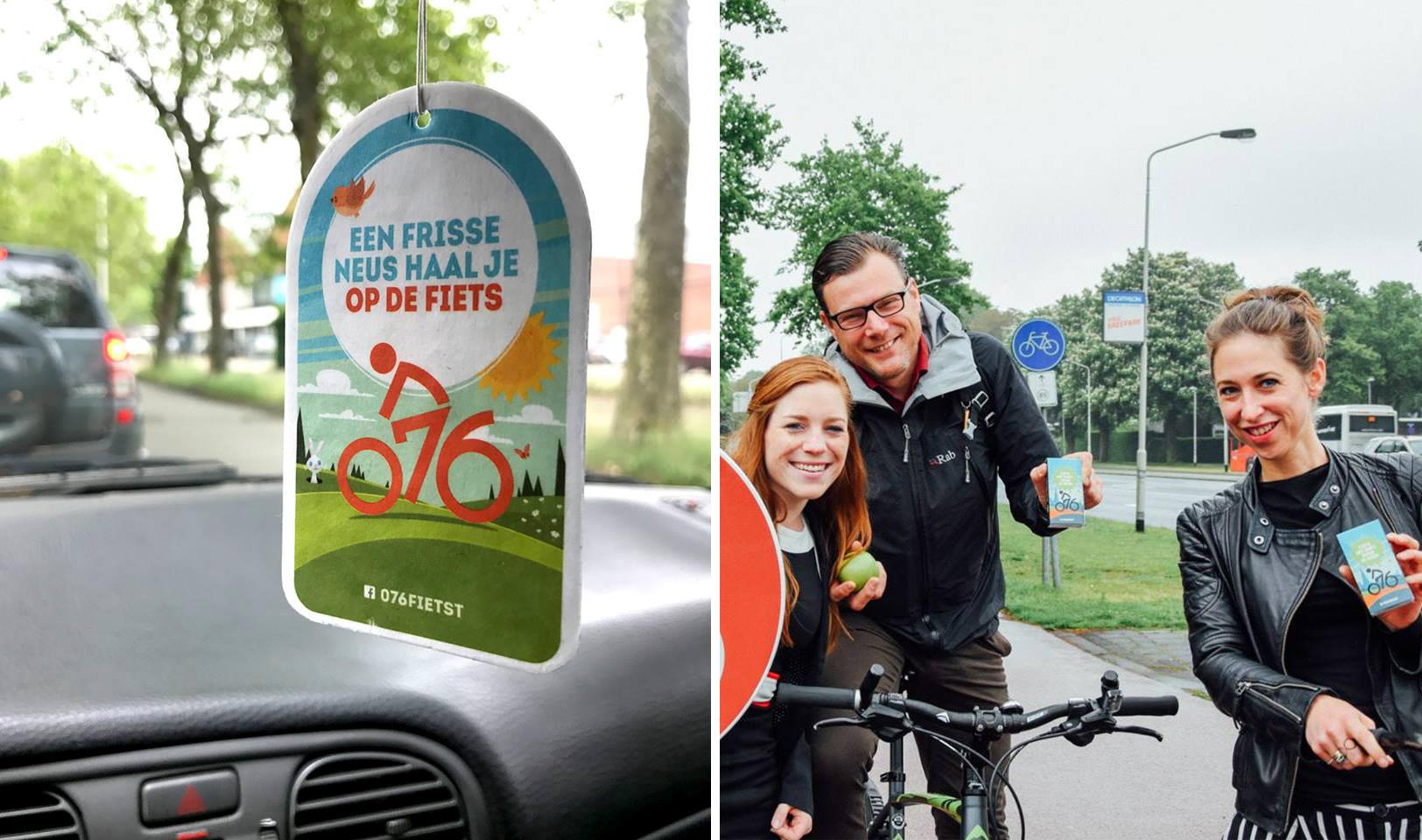 Gemeente Breda 076 fietst give away