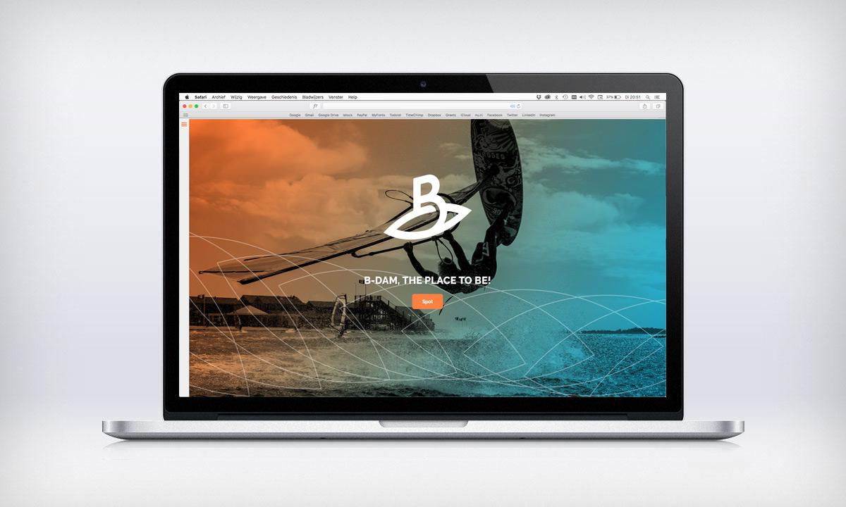 website B-dam