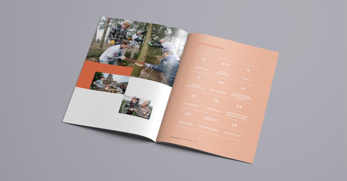 Het Pon jaarverslag inhoud
