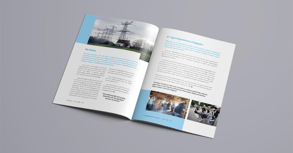 Het Pon jaarverslag spread
