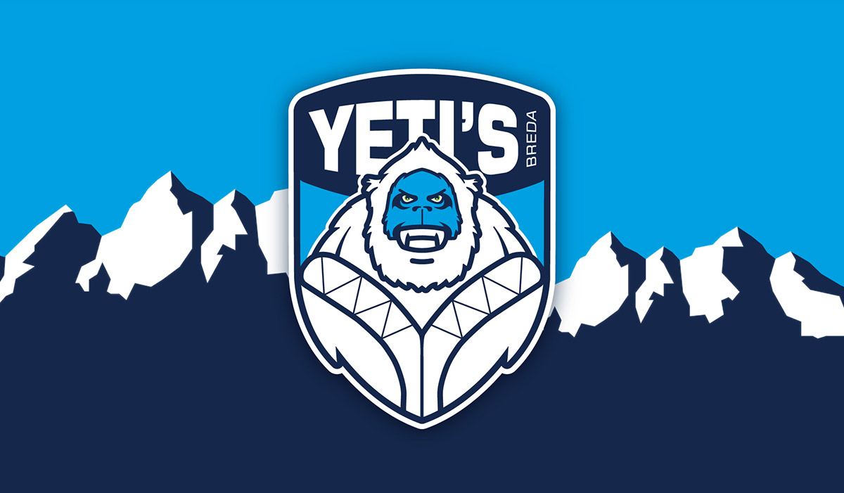 Ijshockeyclub Yeti's header