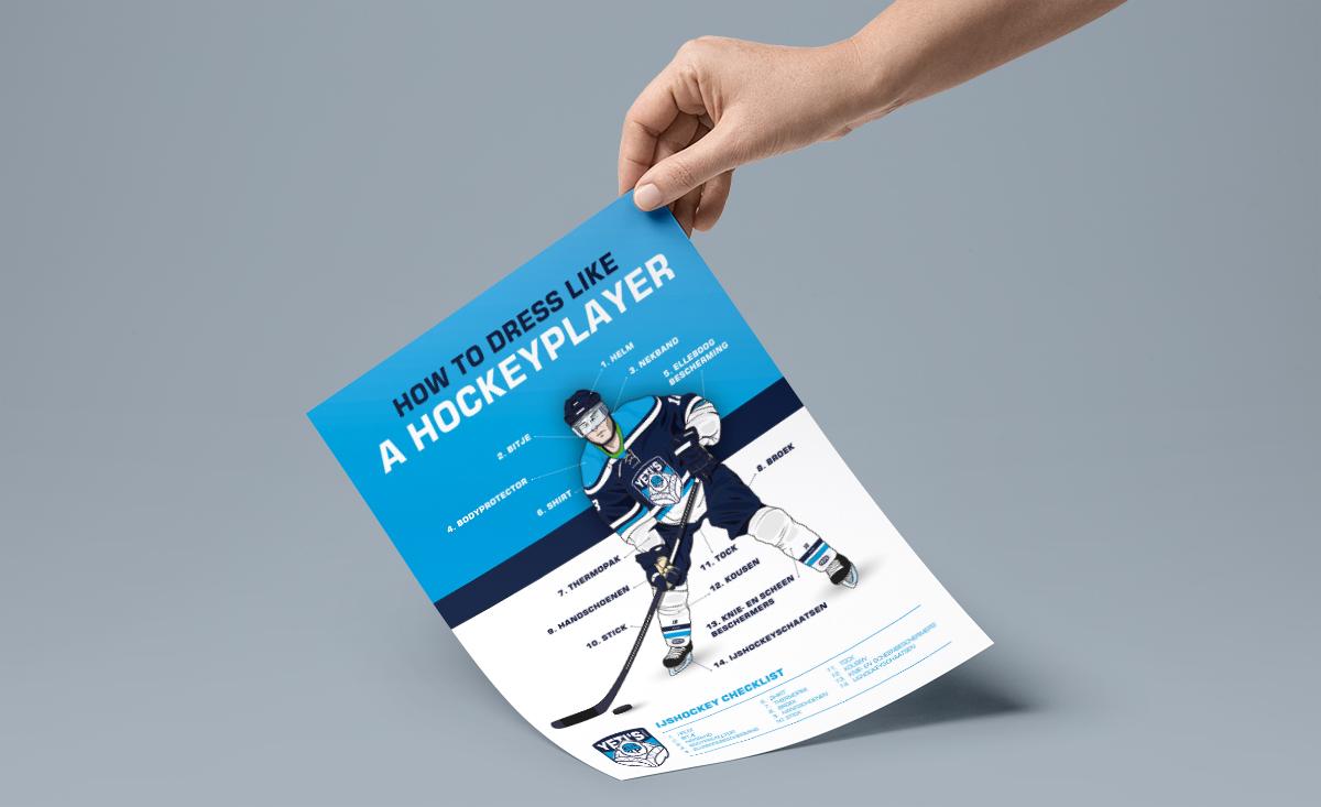 Yeti's ijshockeyclub infographic