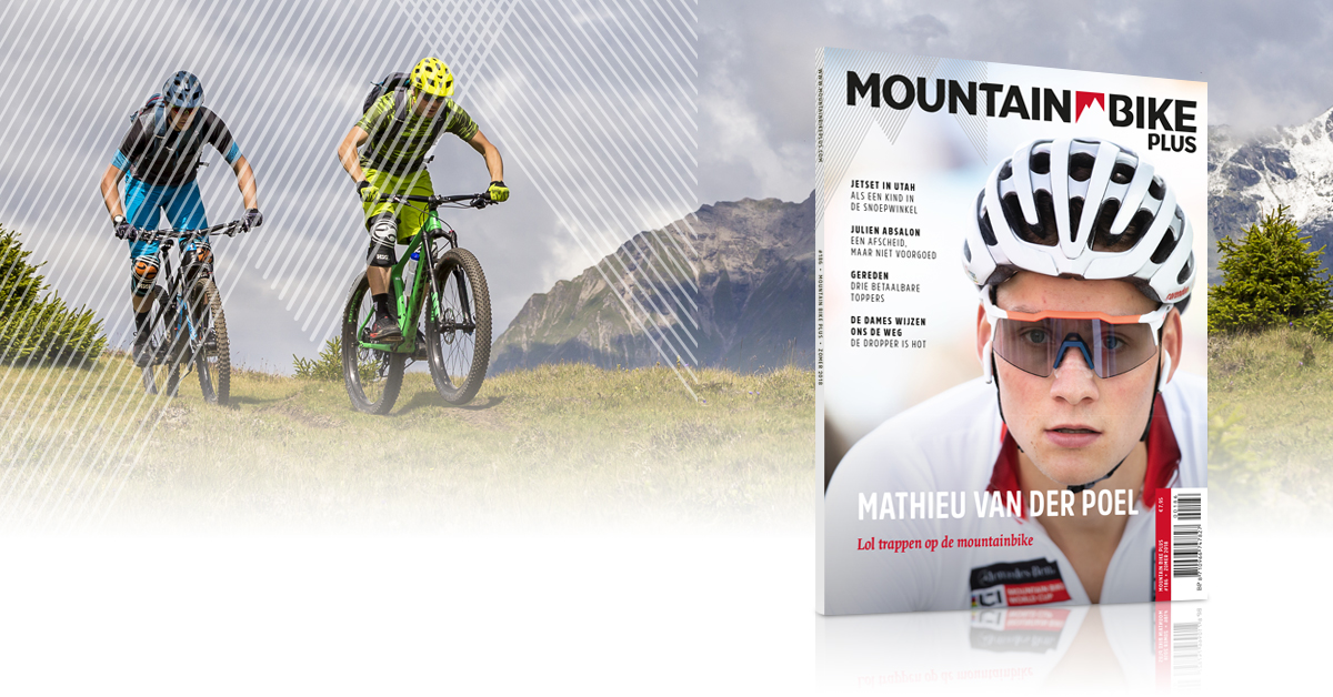 Mountainbike Plus Magazine cover
