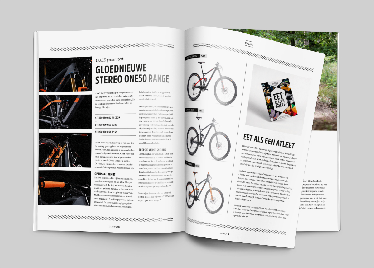 Spread magazine Mountainbike Plus