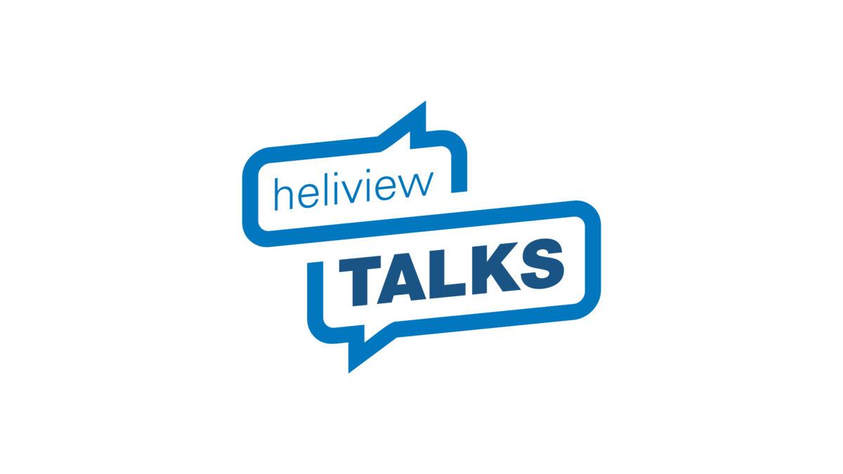 Logo heliview talks