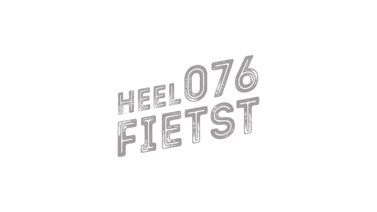 Logo Heel 076 fietst